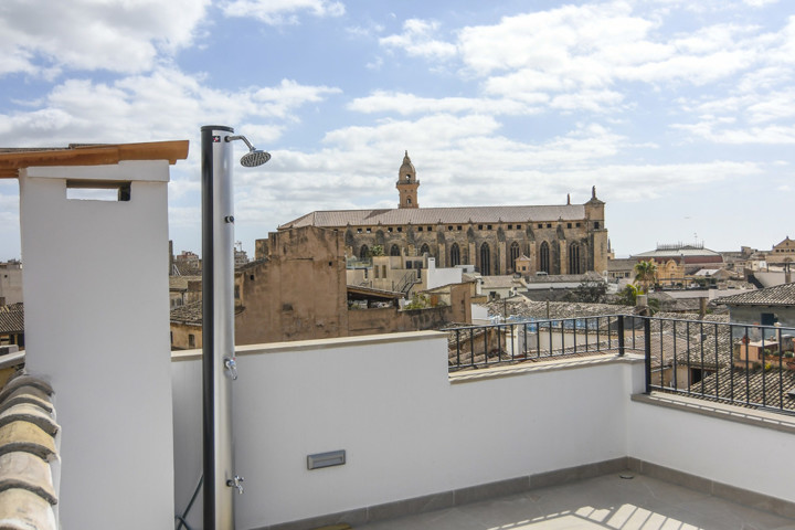 Duplex Penthouse Apartment in Old Town Palma
