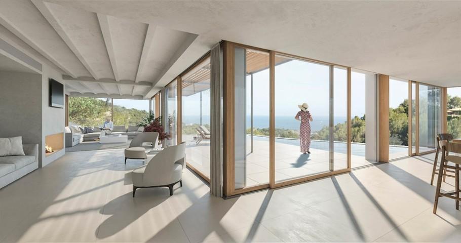 Costa den Blanes Sea View Villa