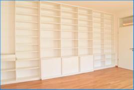 Bücherwand Wohnzimmer