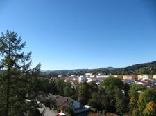 Ausblick vom Westbalkon