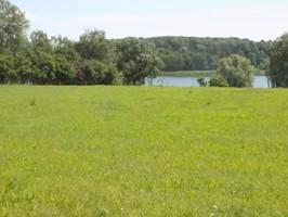 weitläufiges Grundstück am See