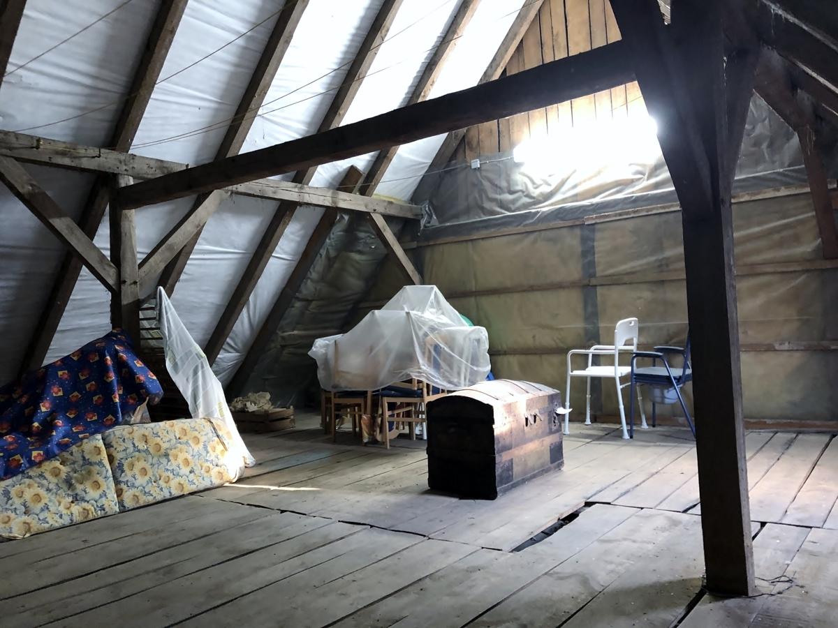 unausgebauter Dachboden 2