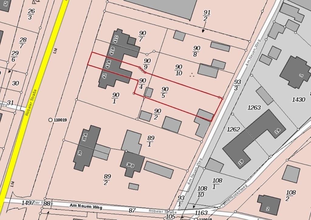 Lageplan Röbeler Str. 41A - Charlet