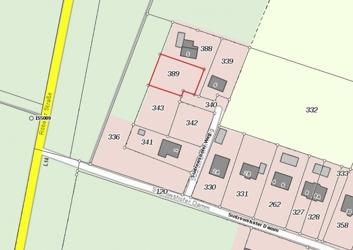 Lageplan - Grundstück 389 - Sudrowshofer Weg