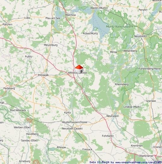 Lage Brandenburg