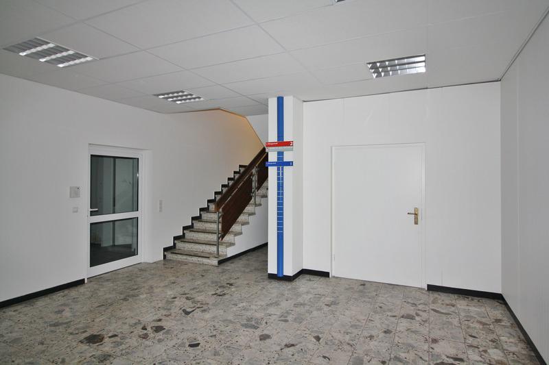 Zugang zur Büroeinheit