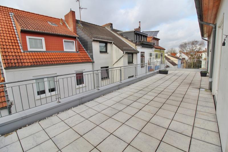 ..mit Blick über Bremens Dächer!
