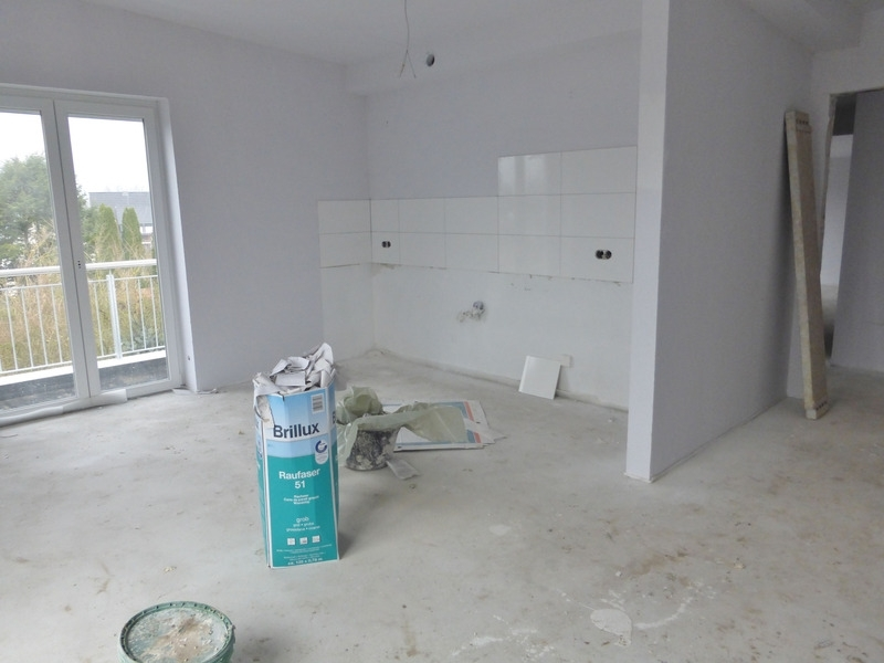 Wohn- und Essbereich mit offener Küche 2. OG rechts