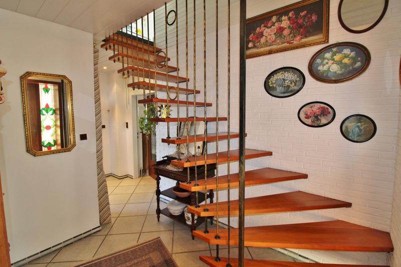 Treppenaufgang...