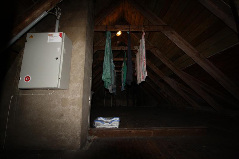 Dachboden Haus 1