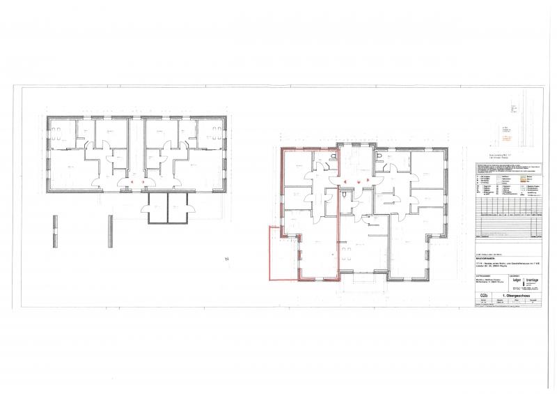 Grundriss 1. Obergeschoss gesamt