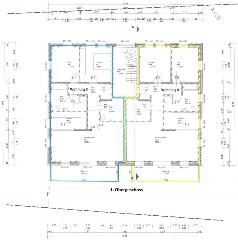 Grundrisse 1. Obergeschoss