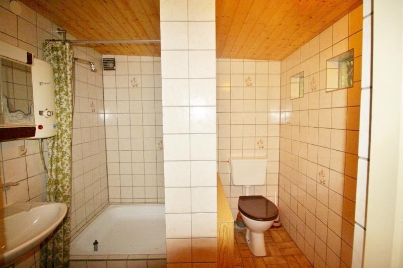 vorbereitetes Badezimmer
