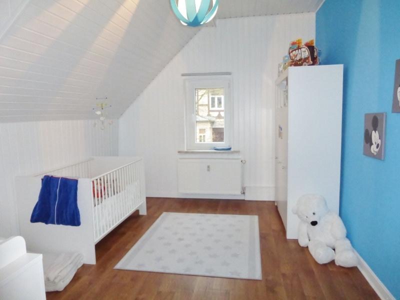 Kinderzimmer möbliert