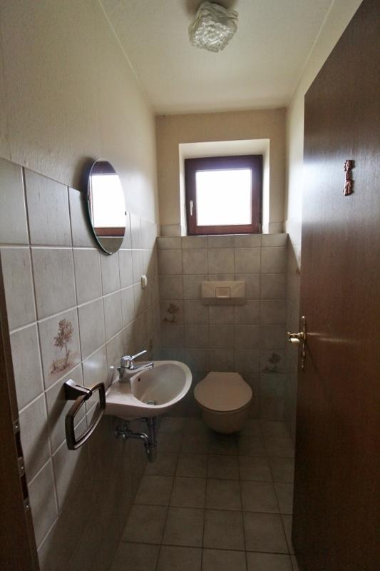 Gäste-WC - Hinteres Haus