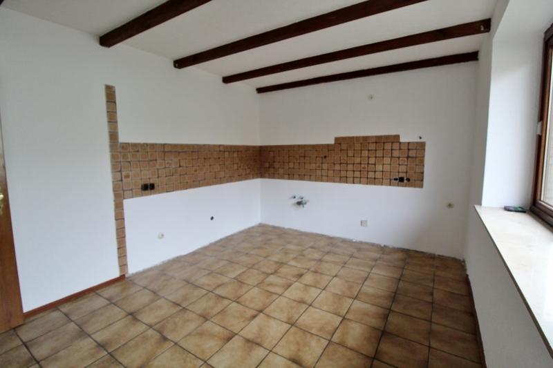 Platz für einen Essbereich - Hinteres Haus