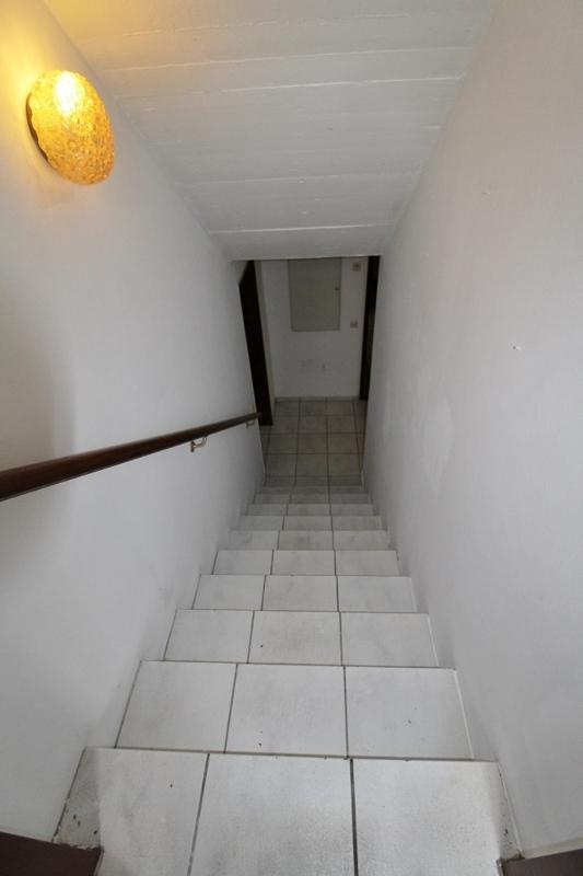 Hier geht es in den Keller - Hinteres Haus