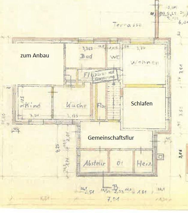 Grundriss Erdgeschoss Haupthaus