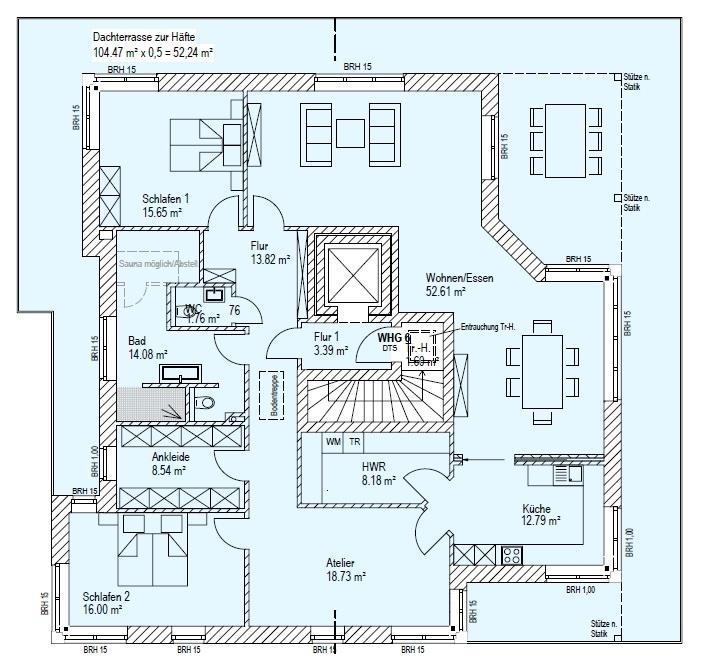 Whg. 6 - Penthouse