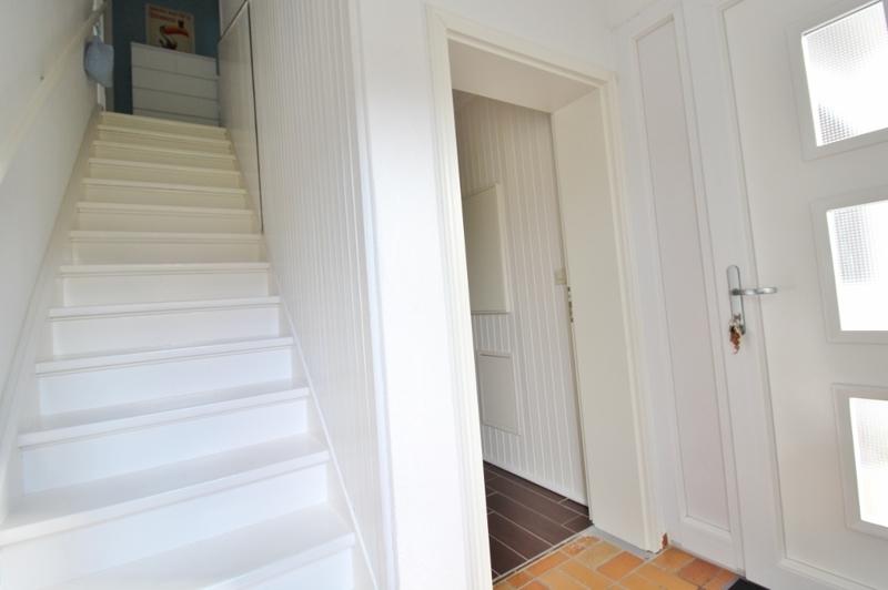 Treppenaufgang ins Obergeschoss