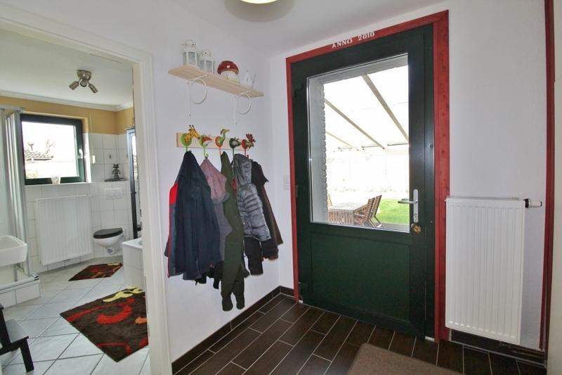 Zwischenraum zu Bad und Terrasse