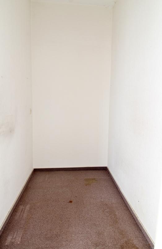 Platz für die Garderobe