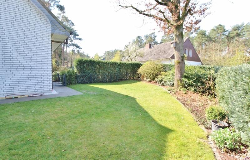 separater Gartenbereich