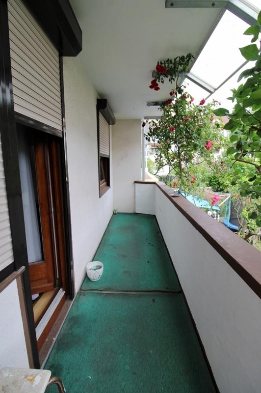 Loggia Wohnung EG