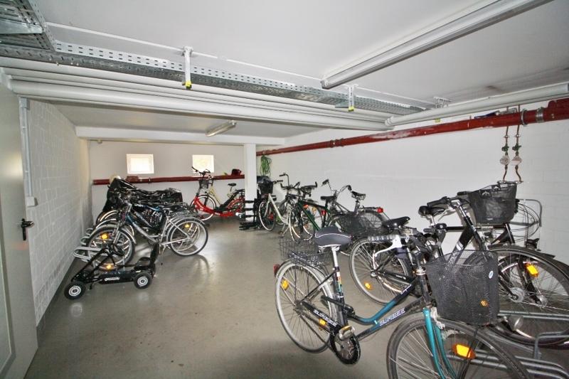 Fahrradkeller zur gemeinschaftlichen Nutzung
