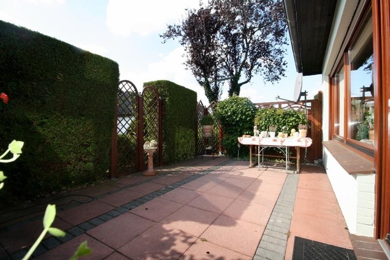 und Zugang zur Terrasse