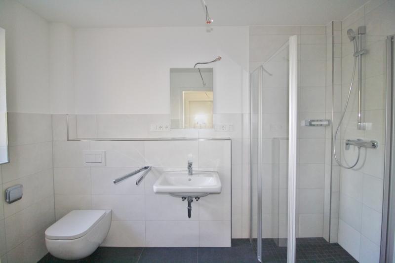 Gäste- WC mit Dusche