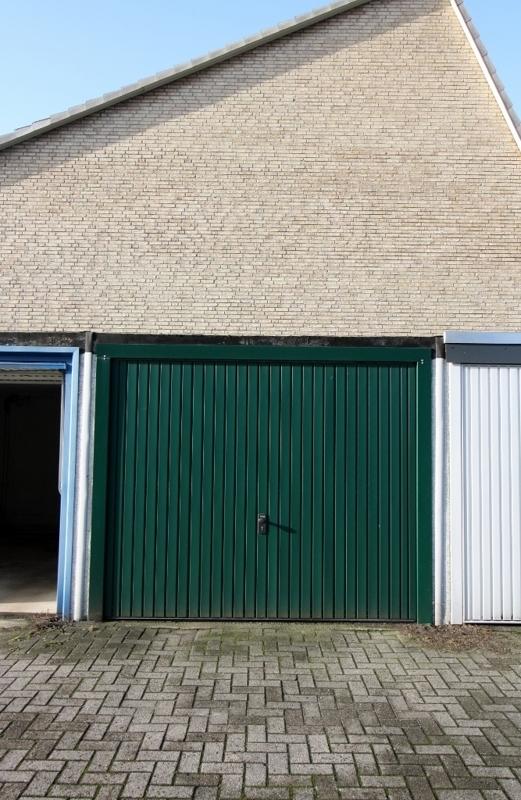 Garage auf dem