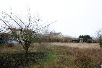 Blick aufs Grundstück