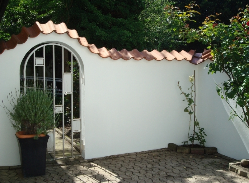 Innenhof - Terrasse