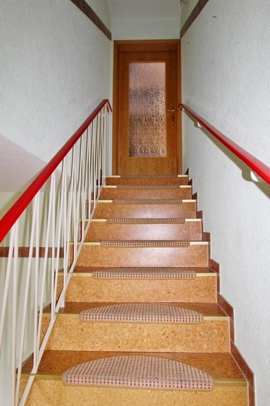 Hier geht es ins Obergeschoss
