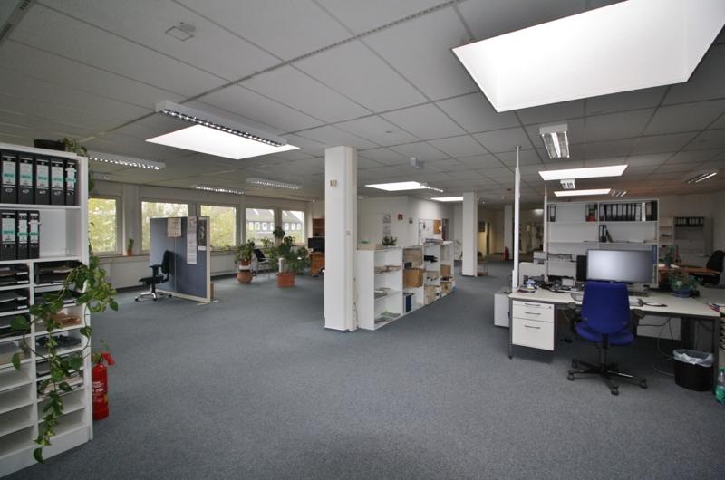 Großraumbüro zusätzlich möglich