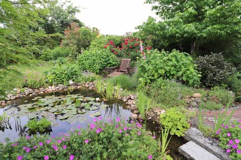 traumhaften Garten