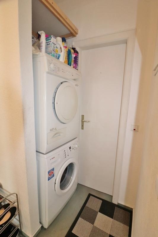 ... Nische für Waschmaschine und Trockner