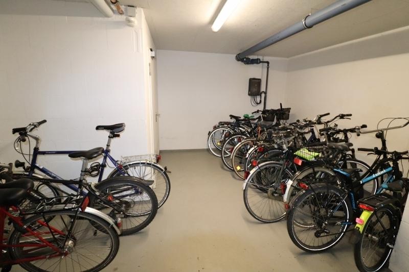 Fahrradraum zur Gemeinschaftsnutzung