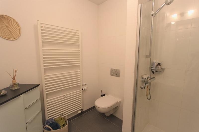 ... Dusche und Fußbodenheizung