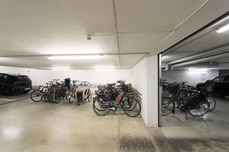 Tiefgarage und gleichzeitiger Fahrradraum