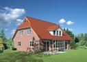 Variante Terrassenerker mit Satteldachgaube