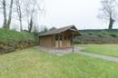 Gartenblockhaus