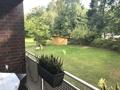 Loggia Blick in den Garten