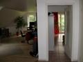Blick Wohnzimmer/ Schlafzimmer