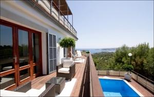 meerblick mit terrasse