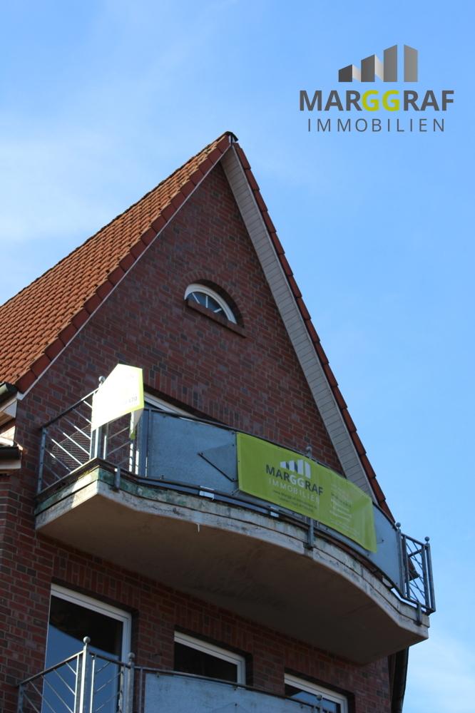 Balkon von aussen