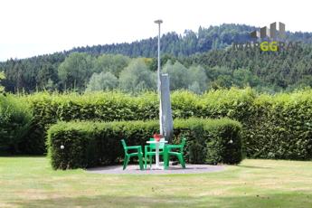 Sitzrondell im Garten