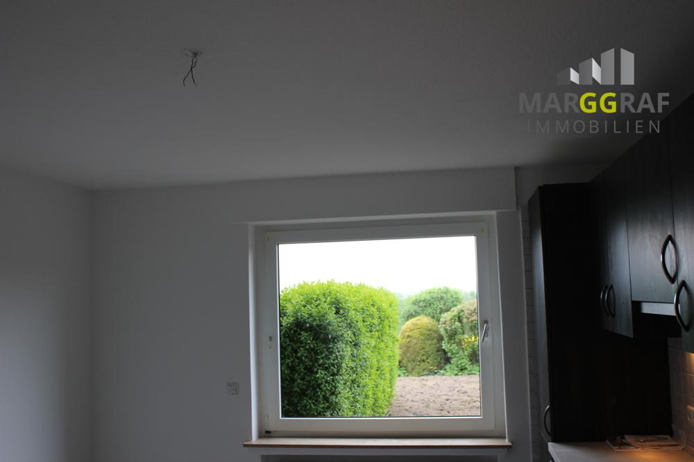 Ausblick aus Küchenfenster