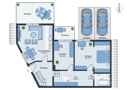 alternativer Grundriss - 3 Zimmer
